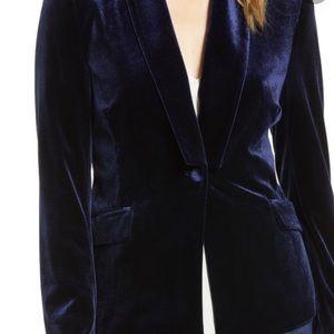 1.State Velvet Blazer Jacket NWT